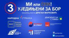 Mare coaliție opozițională  la alegerile locale din Bor