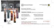 """Expoziția """"Insula în flăcări"""""""