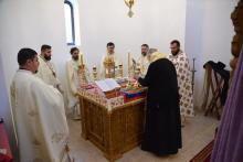 Slujba la Manastire la Mălainița