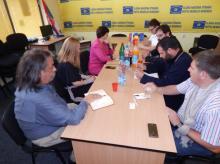 Întâlnirea Congresului Românilor din Serbia cu delegația OSCE