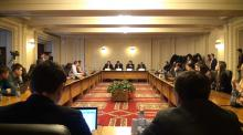 Delegation of the Congress of Romanians from Serbia in a working visit to Bucharest
